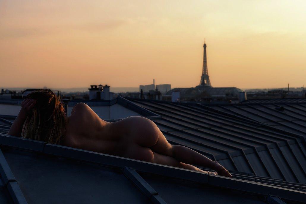 Toit de Paris - Photographe Benjamin Biabiz